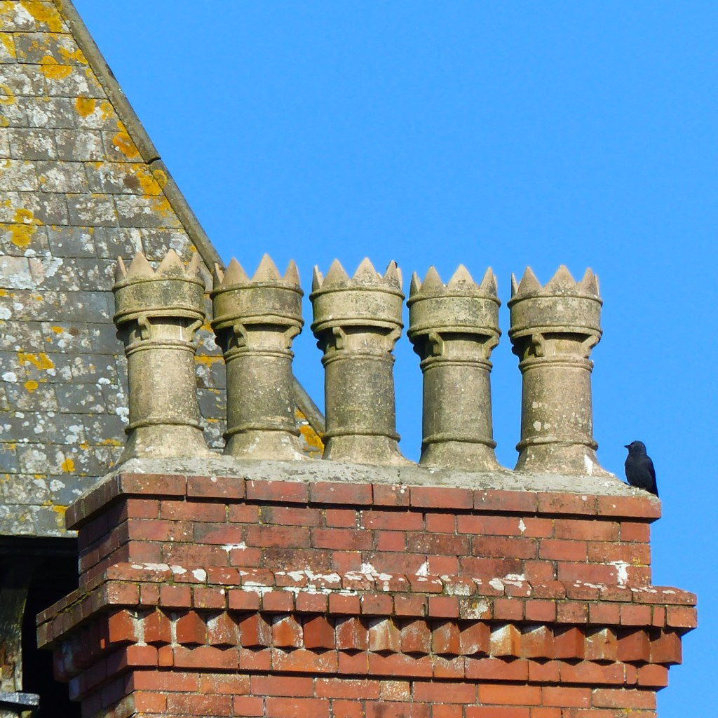 Greenwood House Victorian style chimney pots